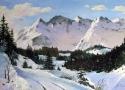 Фомин А.Ю. «Дорога в горы». Холст, масло, 40х60, 2010 год