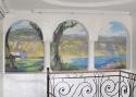 Фомин А.Ю. «Роспись частного дома», акрил