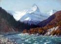 Гребенщиков С.В. «Горная река». Холст, масло, 75х105, 2010 год