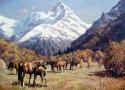 Гребенщиков С.В. «Осень в горах». Холст, масло, 45х60, 2011 год