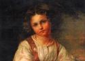 История ТСХР: Н.Богатов «Девочка в красном сарафане»
