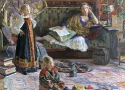История ТСХР: И.Глазунов «Семейный портрет»