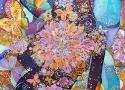Львовская А.А. «Когда вырастают крылья». Холодный батик, 67х67, 2011 год