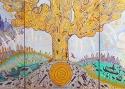 Александра Львовская «Зарождение. Триптих VIA SACRA (Священный путь)»