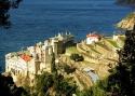 Непша А.А. «Монастырь Григориат». Святая гора Афон, Греция, 2003 год