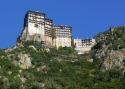 Непша А.А. «Монастырь Симонопетра». Святая гора Афон, Греция, 2006 год