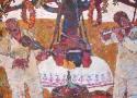 Паршков А.А. «Музыканты». Холст, масло, 100х95, 2004 год