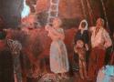 Паршков А.А. «Родичи». Холст, масло, 154х174, 1998 год