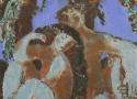 Паршков А.А. «Теплый вечер». Холст, масло, 70х75, 2004 год