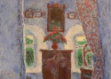 Паршков А.А. «Интерьер с зеркалом». Холст, масло, 95х90, 2004 год