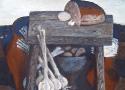 Паршков А.А. «Натюрморт с хлебом», 59х76, 1983 год