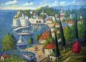 Пириев А.В. «Хорватия». Холст, масло, 150х120