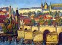 Пириев А.В. «Карлов мост. Прага». Холст, масло, 80х60