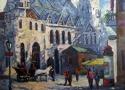 Пириев А.В. «Собор св.Стефана». Холст, масло, 60х80