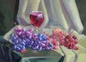Степанова Т.В. «Виноград». Холст, масло, 50х40, 2006 год