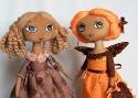 Полина Жебелева. Интерьерные куклы, интерьерные игрушки.