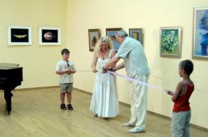 Эдуард Дробицкий и Наталия Цыгикало открывают Десятый фестиваль искусств «Буян-остров» в Сочи