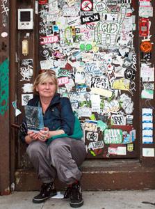 Наталия Демская и граффити в Нью-Йорке
