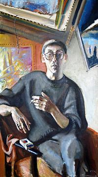 Манжелей Владимир Юрьевич (портрет написан К.Тропицыным)