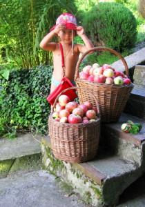 Сафиюшка в саду «Буян-остров»