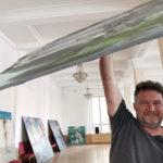 Монтаж сочинской выставки в Москве
