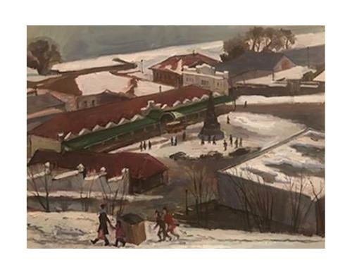 Участвуйте в выставке «Романтика зимы»